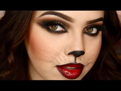 Sexy Cat Halloween Makeup  YouTube - Cat Costume Makeup Ideas