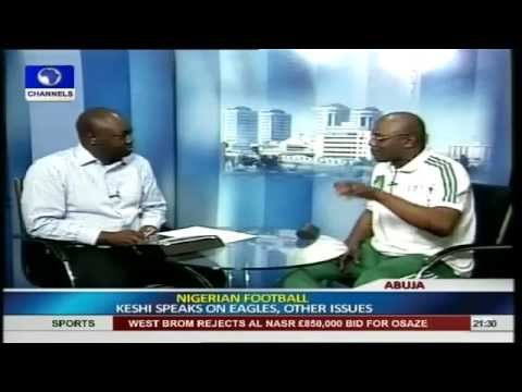 I love Super Eagles; It is In My Blood -- Stephen Keshi PT 1