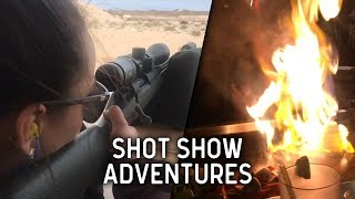 Shot Show Madness and making 800 yard shots! | VLOG
