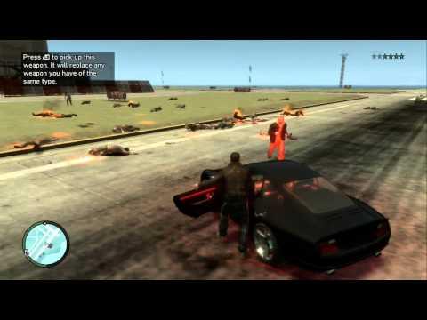 GTA Zombie Mod - GTA IV (Xbox360)
