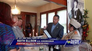 SUAB HMONG NEWS:  Keith Ellison presents U.S. Congressional Record honoring Gen. Song Leng Xiong