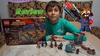 Обзор LEGO Guardians Of The Galaxy 76020