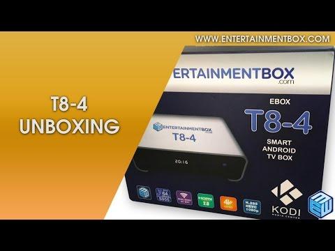 Review Latest Kodi TV Box 10/06/16, T8 V4 Smart TV Box | Android TV |Apple TV | Roku | Amazon Fire