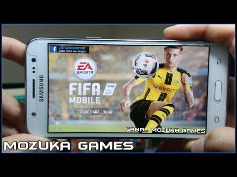 FIFA MOBILE FUTEBOL GAMEPLAY #1 - NOVO FIFA 17 MOBILE EU JOGUEI (FIFA 17 DE CELULAR)