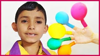 Learn Colors With Baby and Balloons For Children | Color For Kids Fun time