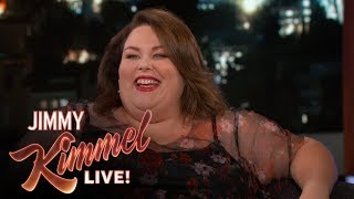 Chrissy Metz Almost Got Kicked Out of Jimmy Kimmel Live