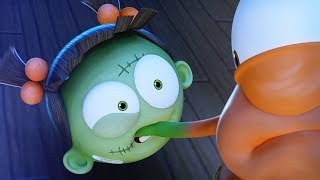 Funny Animated Cartoon | Spookiz What's The Time Mr Wolf Goes Wrong 스푸키즈 | Cartoons for Kids