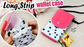 DIY MINI BAG WALLET & PHONE CASE TUTORIAL ~ Useful to Have It