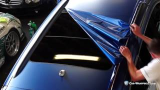 Car-Wrapping21.com Autofolierung Audi Q7  blau matt