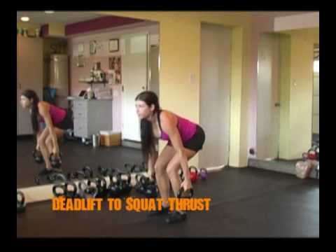 Squats vs Deadlifts Deadlift to Squat Thrust