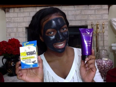 DIY Activated Charcoal Peel Mask