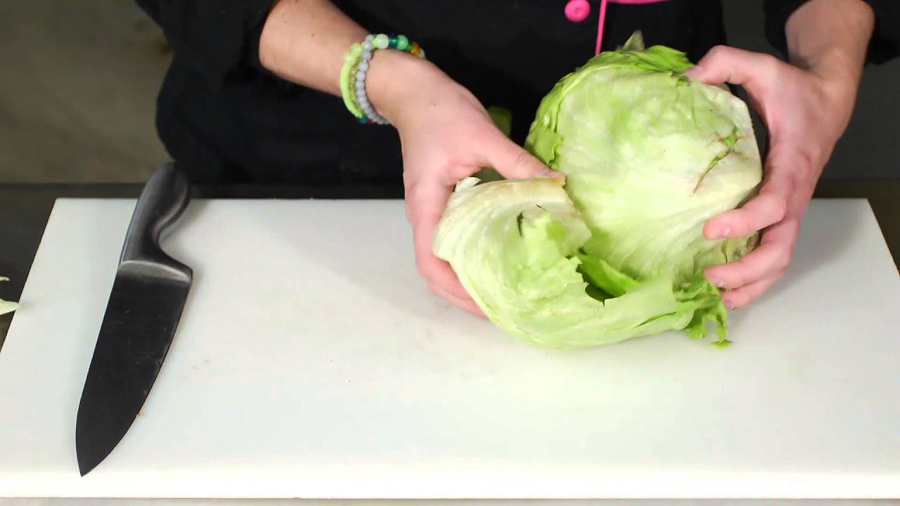 How to Cut Iceberg Lettuce