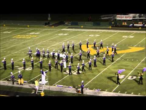 Warren De La Salle Collegiate High School Marching Band at WSU, 9-26-2014 [HD] 15 min