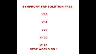 FREE SYMPHONY V65 FRP V34, V75 , V85, V100, V110 SOLUTION BEST WORLD BD
