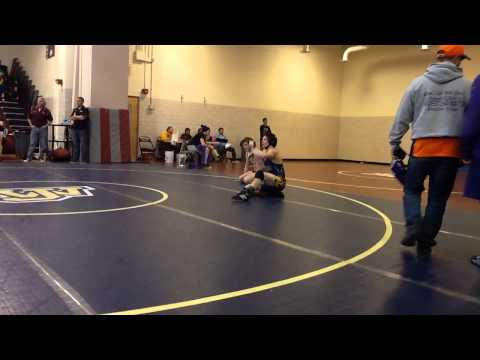 John Handley High School Individual Wrestling Tournament - Saturday, 18th January 2014 - Round #5