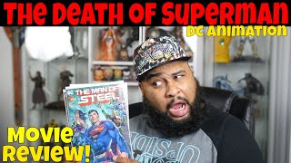 """""""The Death of Superman"""" Movie Review"""