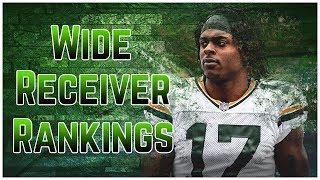 2019 Fantasy Football - Top 12 Wide Receiver Rankings