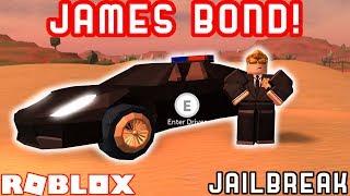 JAMES BOND CHALLENGE | Roblox Jailbreak Roleplay Challenge