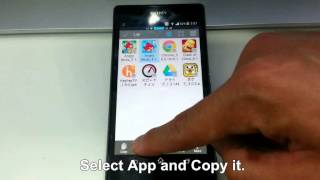 How to copy android apps from your device to toshiba L4300