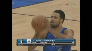 Tyson Chandler 2010 Highlights at Thunder 17 Pts 18 Rebs