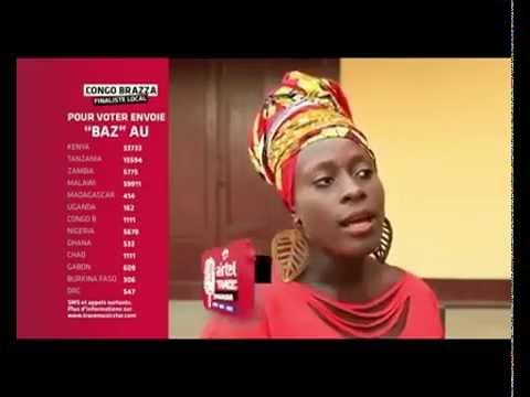 Découvrez Baz la gagnante de Airtel TRACE Music Star au Congo Brazzaville