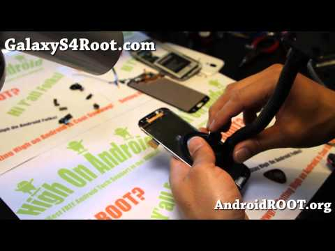 How to Replace Digitizer Assembly on Galaxy S4!
