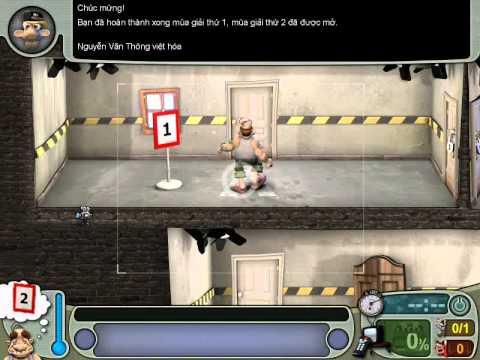 Neighbours From Hell 1 ( Người Hàng Xóm 1 ) - Màn 1 Tập 3 ( Game Việt Hóa )