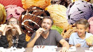 Ice Cream Sandwich Mukbang Storytime Challenge | Josh Darnit