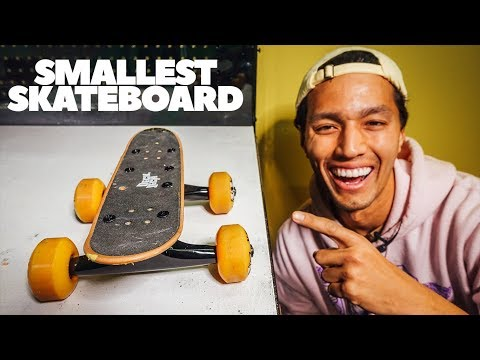 Handboard with REAL Skateboard Trucks?!