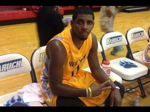 Cleveland Cavaliers ROY Kyrie Irving AKA Uncle Drew Goes Dancing For 40+ At 2012 NIKE PRO CITY