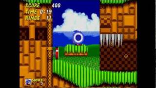 Sonic The Hedgehog 2 - Gameplay Part 1 Emerald Hill Zone (All Chaos Emeralds)