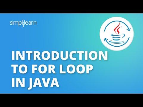 Java For Loop | Java Tutorial For Beginners | Java Programming Tutorial | Java Basics | Simplilearn