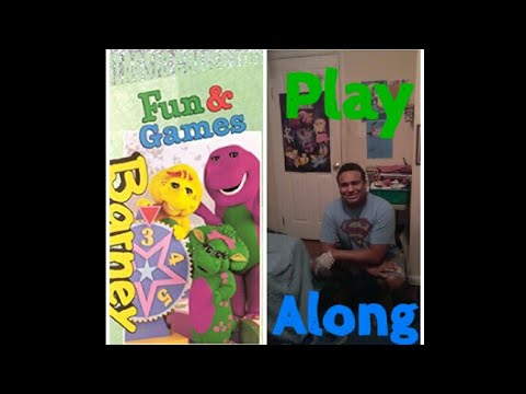 Barney's Fun And Games Play Along