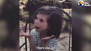 Kid Realizes Zoo is Like Animal Jail | The Dodo
