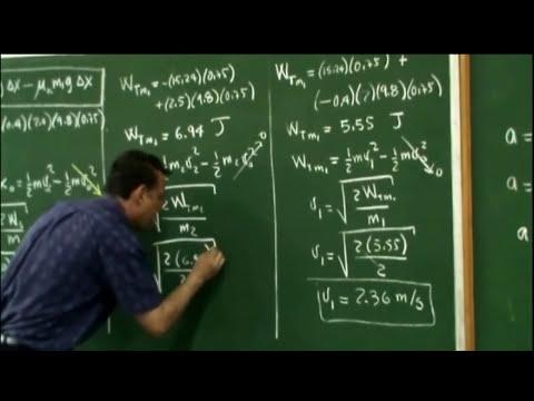 Clase 3: Problema 2, Trabajo y Energía Cinética.
