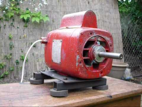 Hoover Vintage Electric Motor Youtube