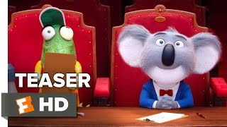 Sing Official Teaser Trailer #1 (2016) - Scarlett Johansson, Matthew McConaughey Movie HD