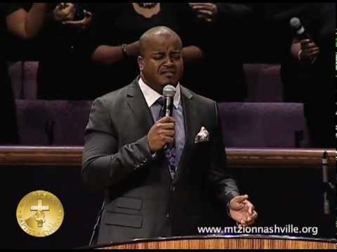 Jason Nelson Ministers At Mt. Zion Nashville Stellar Week 2013 video