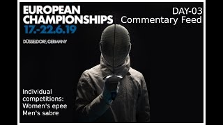 European Championships Düsseldorf 2019 Day 03 commentary feed