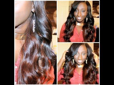 Black to Brown Two Toned Hair (Walk through)