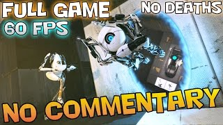 Portal 2: Co-Op - Full Game Walkthrough 【No Deaths】【NO Commentary】