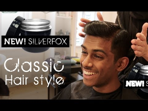 Wall Street Look - men's hair tutorial By Vilain SIlver Fox
