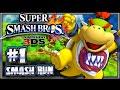 Super Smash Bros 3DS - (1080p) Part 1 - Smash Run w/Bowser Jr