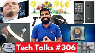Tech Talks #306 - Micromax Jio Phone, HoverBike, OLED Lamp, LG K7i, iPhone 8 Issue