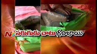 విశాఖ ఏజెన్సీ నుంచి గంజాయి అక్రమ రవాణా | సరుగుడు కర్రల చాటున గంజాయి ప్యాకెట్లు | Be-Alert | NTV