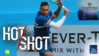 Hot Shot: Kyrgios Weaves Way Into Winner At Queen's Club 2018