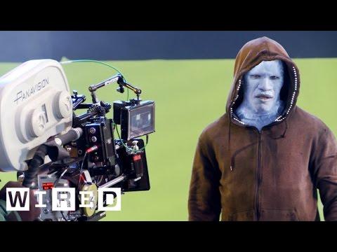 The Amazing Spider-Man 2: Transforming Jamie Foxx into the Villainous Electro-Design FX-WIRED