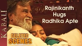 Rajinikanth and Radhika Apte Romantic Scene