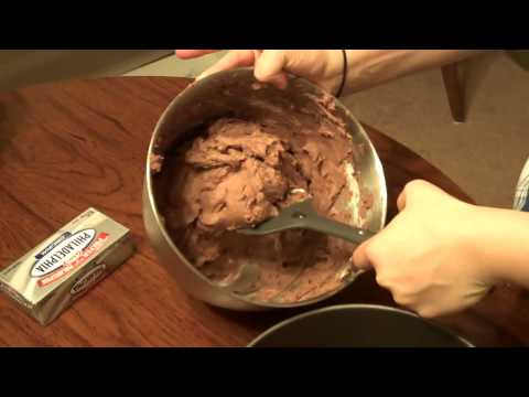 Mint Chocolate Cheesecake featuring Philadelphia Cream Cheese.mp4