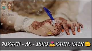 Nikah love best status for whats app